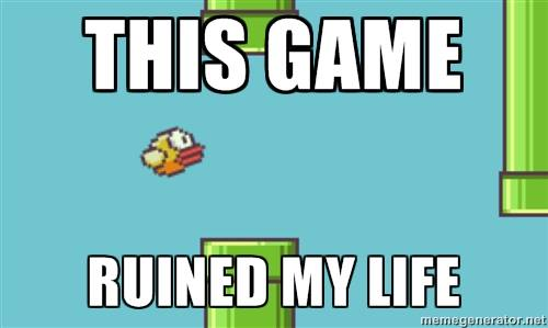 This game ruined my life - Flappy Bird Game