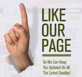 Like our page - So we can keep you updated on all the latest goodies