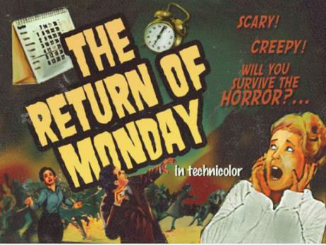 The Return Of Monday - Girl Screaming