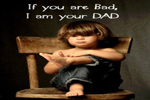 If You Are Bad, I am Your Dad - Funny Kid Angry