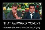 That Awkard Moment When Everyone Is Serious and You Start Laughing - Ryan Gosling Crazy Stupid Love