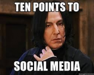 Ten Points to Social Media - Professor Snape