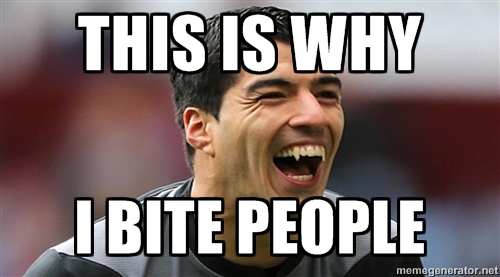 This Is Why I Bite People - Luiz Suarez in FIFA World Cup
