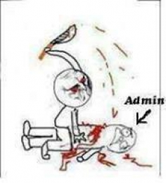 Kill the Admin with Knife - Kill Administrator
