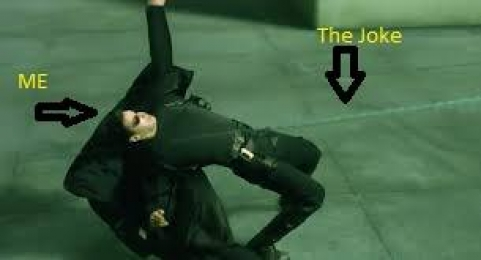The Joke and Me - Matrix Stunt Fight Neo - Keanu Reeves