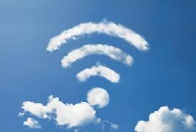 WiFi Cloud in Sky