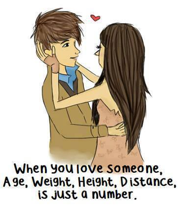 When You Love Someone, Age, Weight, Distance is Just a number