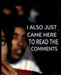 I Also Just Came Here To Read The Comments - Michael Jackson Eating Popcorn - MJ in Thriller Theatre