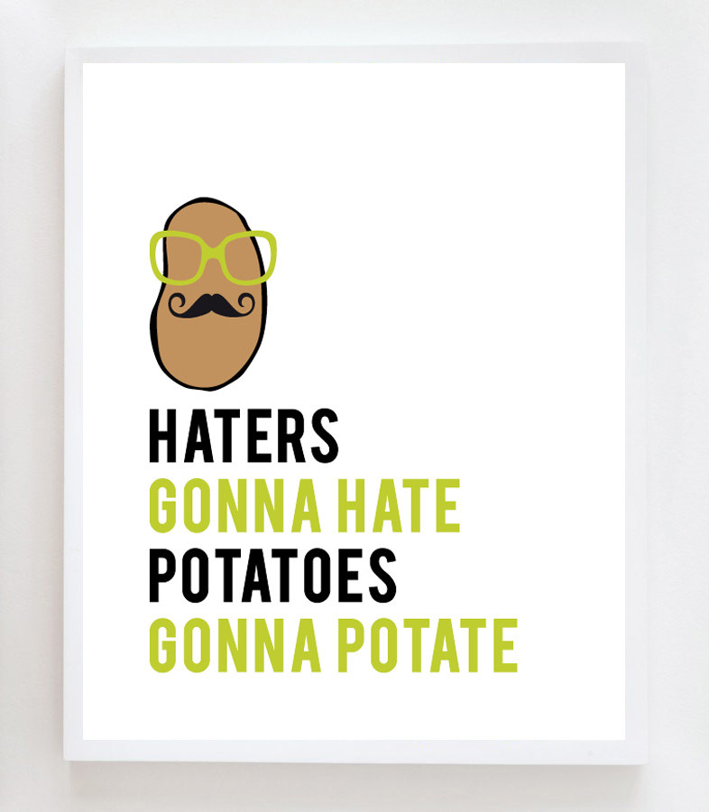 Haters Gonna Hate, Potatos Gonna Potate