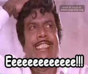 Eeeeeeeeeeeeeeeee - Goundamani Teeth Monkey Expression