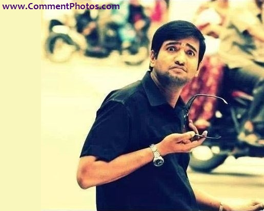 Santhanam Crying Funny Look