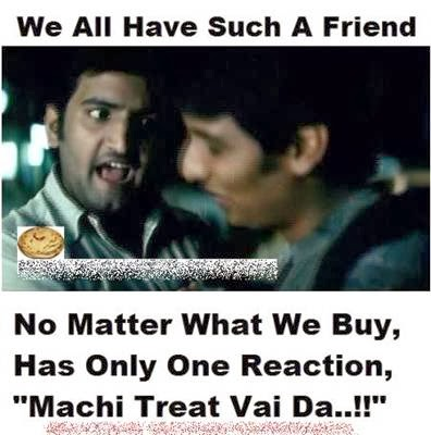 We All Have Such A Friend No Matter What We Buy, Has Only One Reaction - Machi Treat Vai Da - Santhanam Funny Reaction, Expression