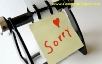 I am Sorry - Sticky Note