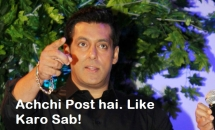 Achchi Post Hai Like Karo Sab - Salman Khan