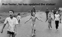 Run Faster, He has updated the status