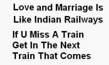 Love, Marriage and Indian Railways