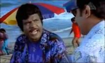 Goundamani Gets Angry in Beach