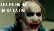 Aha Ha Ha Ha Ha - Heath Ledger As Joker In Batman Dark Knight